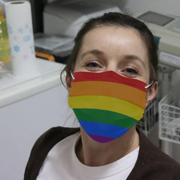 LGBT Rainbow Cloth Face Mask