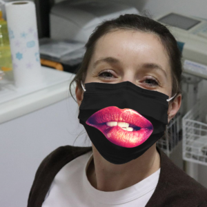Sexy Lips Cloth Face Mask