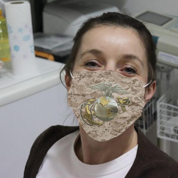 US Marine Cloth Face Mask