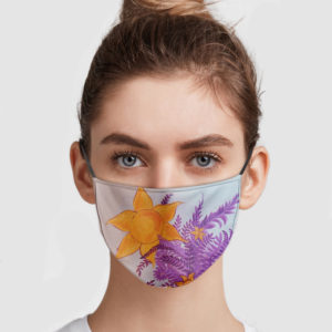 Tangled Wall Face Mask