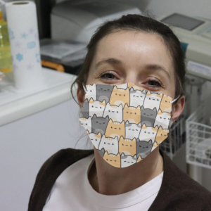A Lot Of Funny Cats Cloth Face Mask