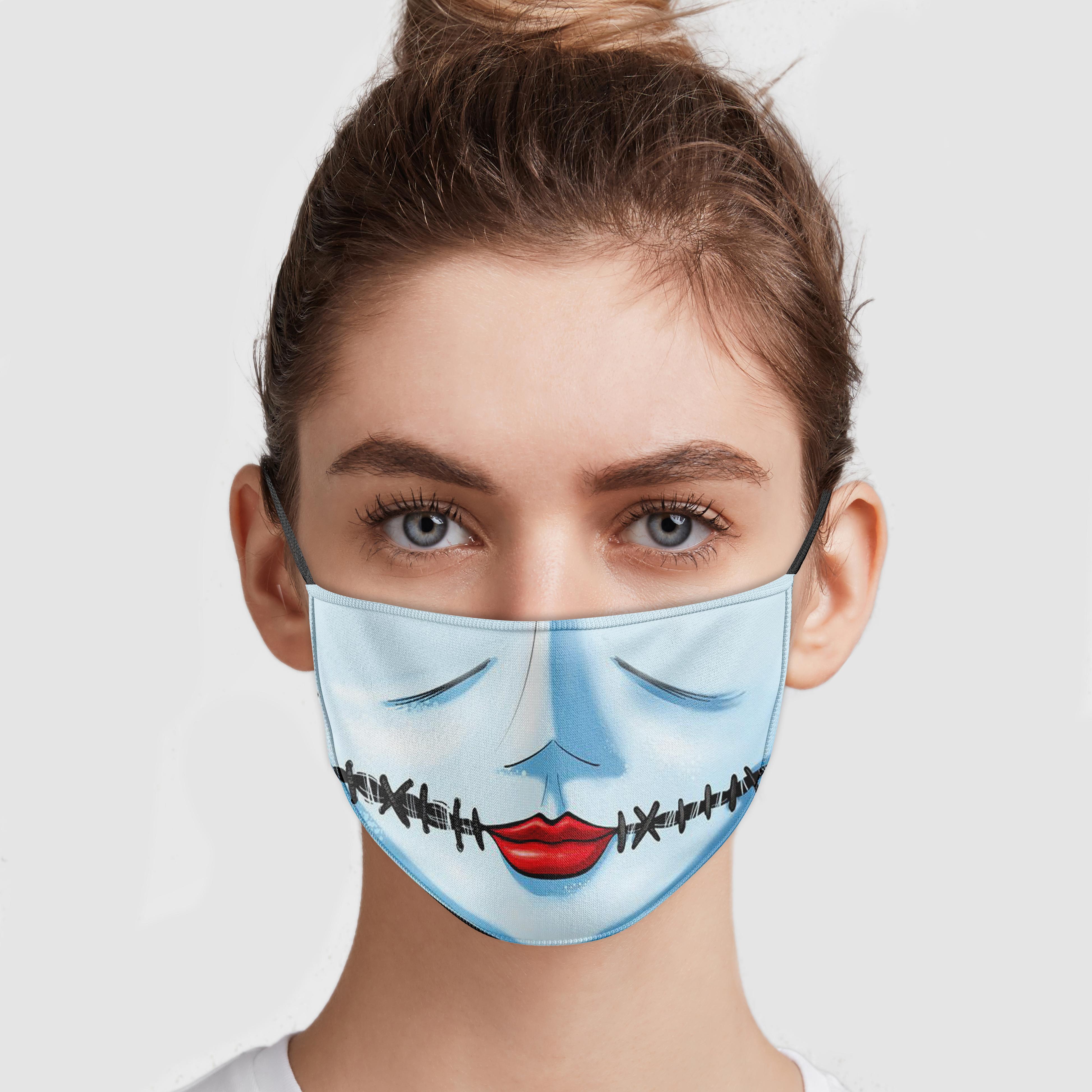 Nightmare Before Christmas - Sally Face Mask Teemoonley.com