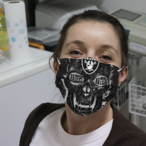 Raider Nation Cloth Face Mask