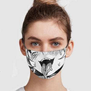 Ahegao Face Mask