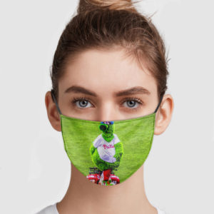 Phillie Phanatic Scooter Face Mask