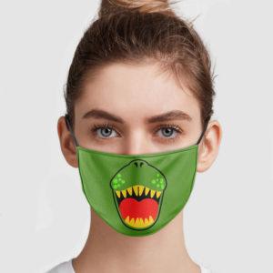 T-rex Smile Face Mask