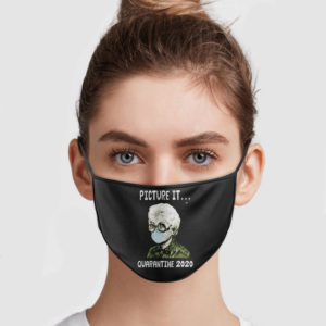 The Golden Girls – Picture It Quarantine 2020 Face Mask