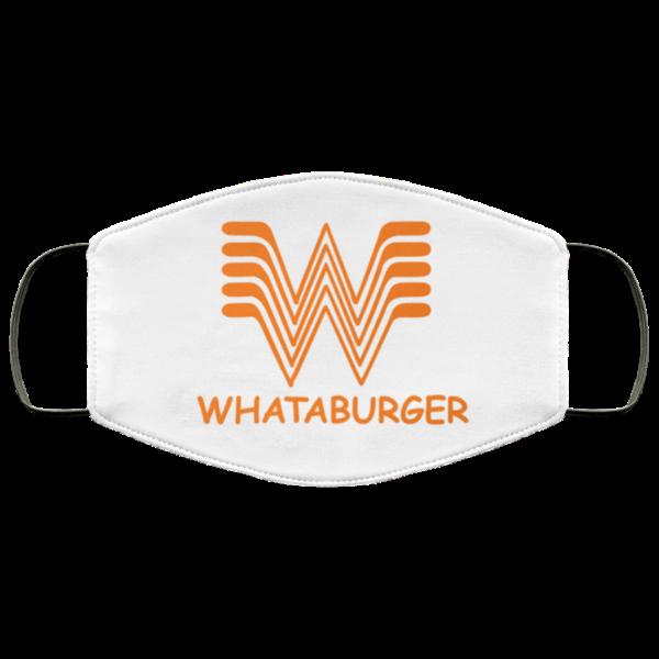 Whataburger Face Mask