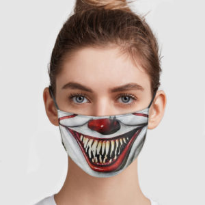 Pennywise Mouth Face Mask