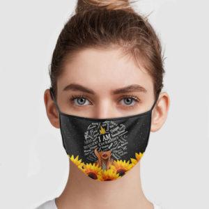 Sunflower – I Am Courageous – Wisdom Unique Face Mask