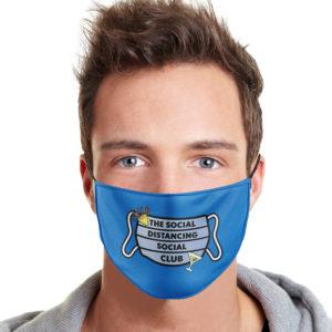 The Social Distancing Social Club Face Mask