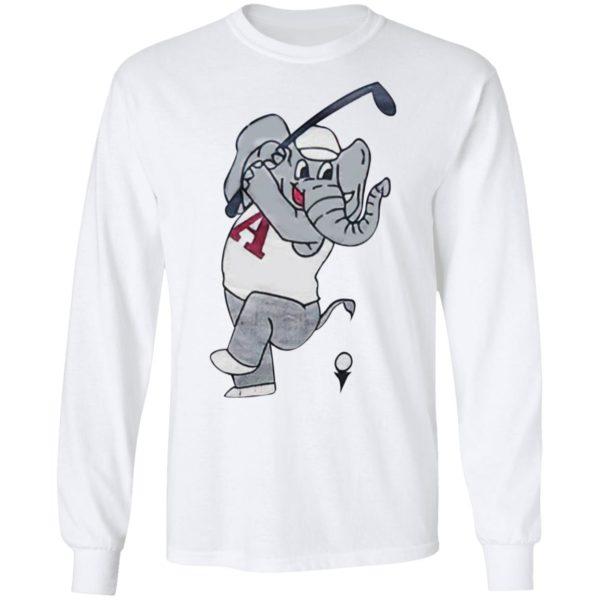 Swing Elephant Alabama Golf Shirt