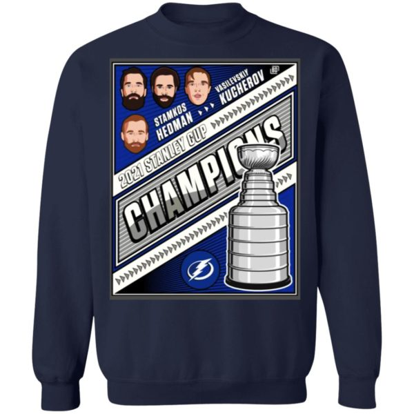 2021 Stanley Cup Champions Tampa Bay Lightning Shirt