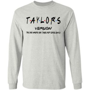 Taylor's Version The One Where She Takes Her Songs Back Shirt