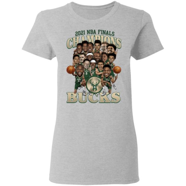 2021 NBA Champions Milwaukee Bucks Shirt