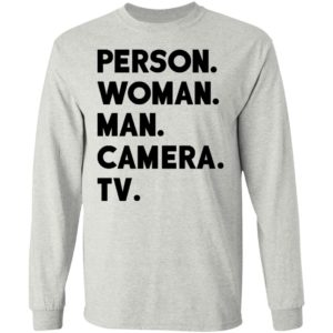 Person Women Man Camera TV Shirt