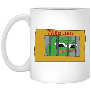 Pepe frog Tard Jail Mugs