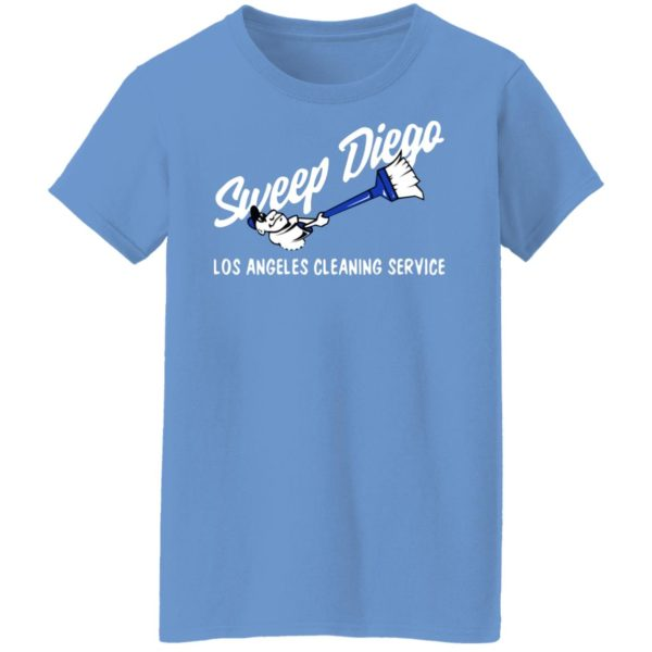 Sweep Diego Los Angeles Cleaning Service Shirt