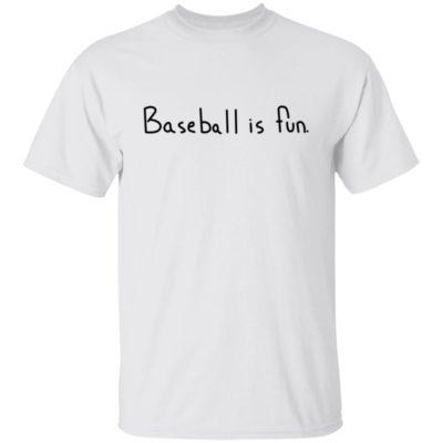 Brett Phillips Baseball Is Fun Shirt