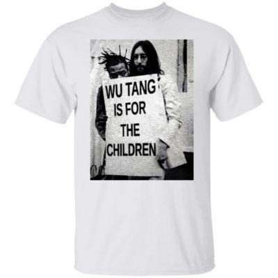 Wu Tang Is For The Children John Lennon Shirt