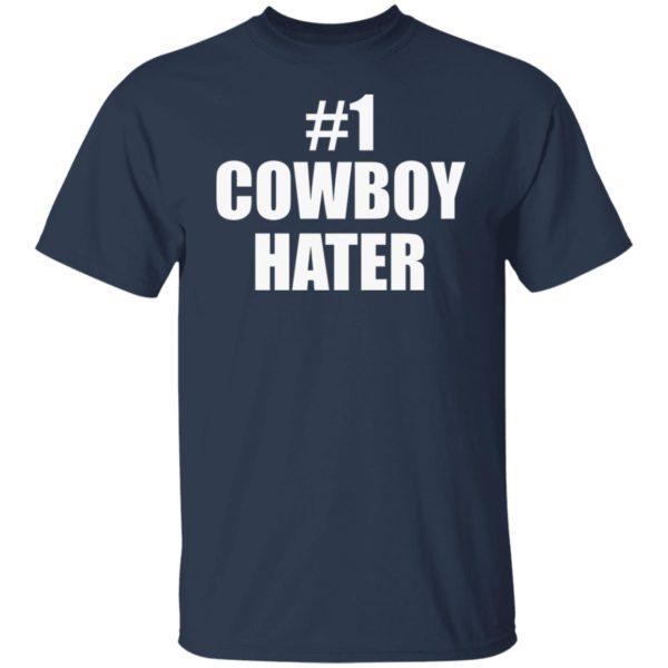 #1 Cowboy Hater Shirt